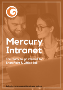 Free mercury intranet brochure download