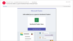 Microsoft Teams guest access
